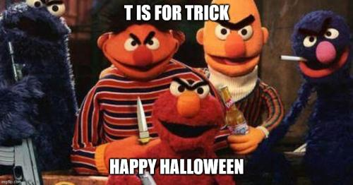 T IS FOR TRICK HAPPY OCTEMBER